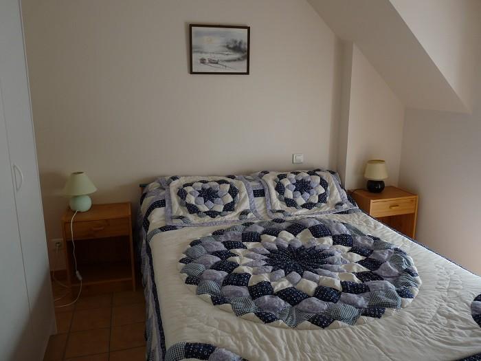 Pénestin - Appartement 4 personnes - M. Lefevre 2ème étage - chambre avec lit double