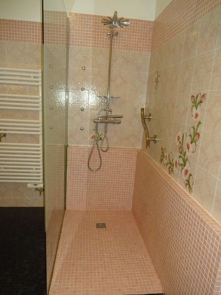 Piriac sur Mer - Appartement 5 personnes - Mme Mabo - Salle de bain avec douche