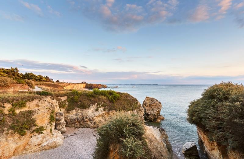 Piriac-sur-Mer - Balade littorale - De la plage St-Michel à la légende du tombeau d'Almonzor
