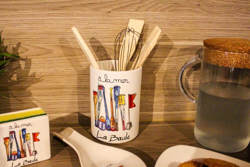 Pot à ustensiles de cuisine - La Baule