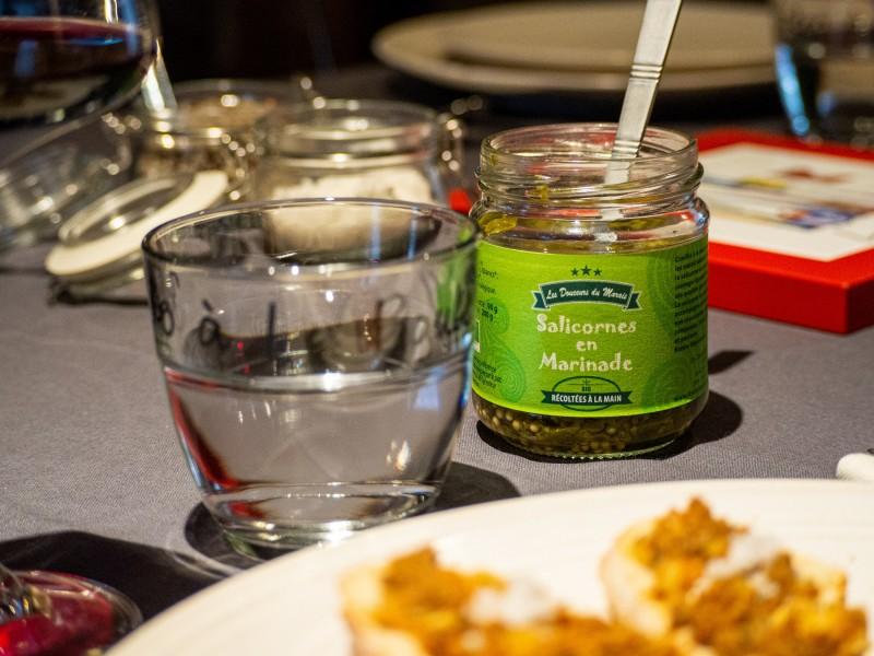 Salicornes en marinade - La Turballe