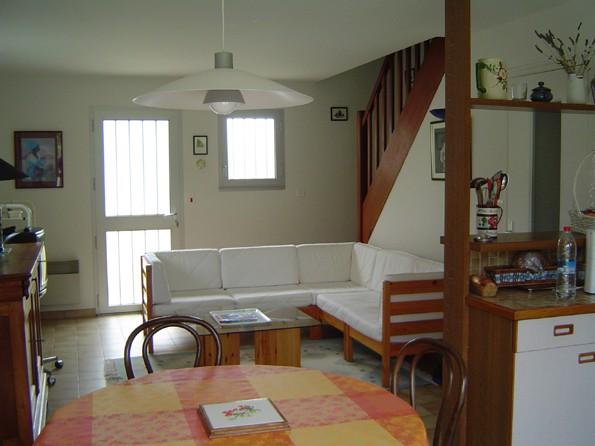salon Maison 6 personnes à Mesquer quimiac - M. Broxer proche marais salants