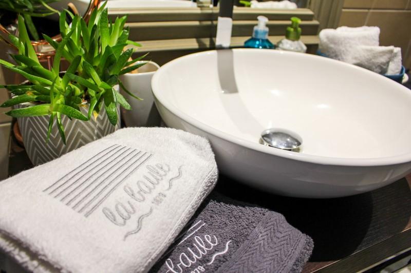 Serviette de toilette - La Baule