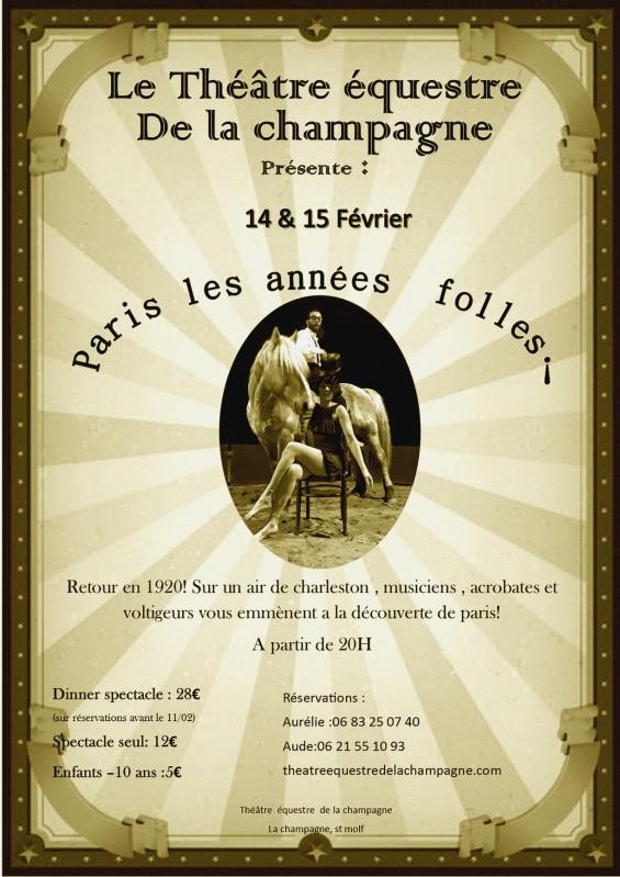 Spectacle Équestre - Paris les Années Folles !