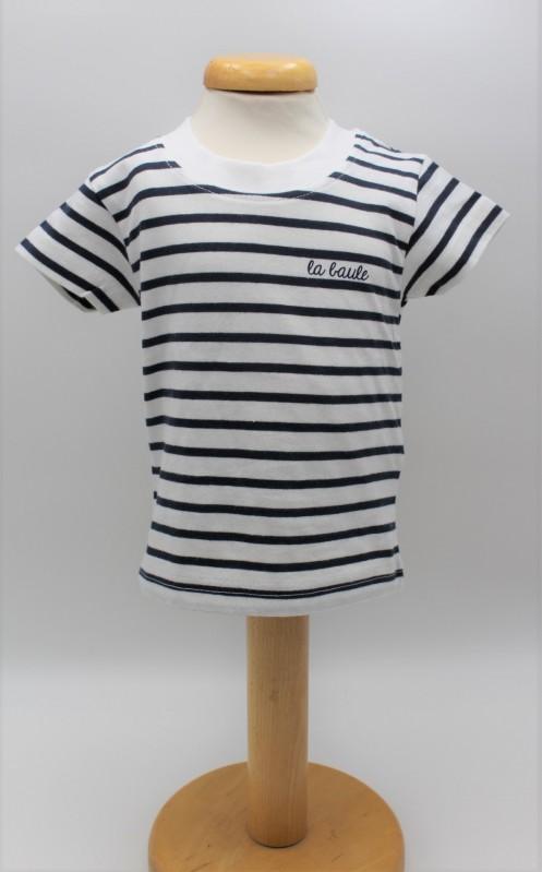 T-shirt Enfant Rayé la baule