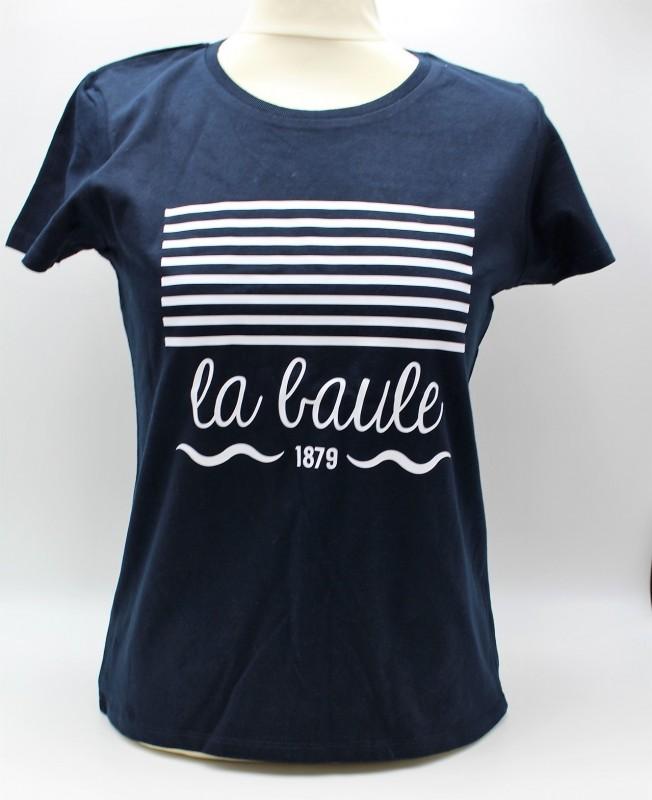 T-shirt Femme Marinière - La Baule