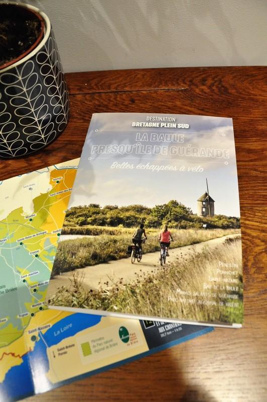 Topo guide Vélo - Les Belles Echappées en Bretagne plein sud