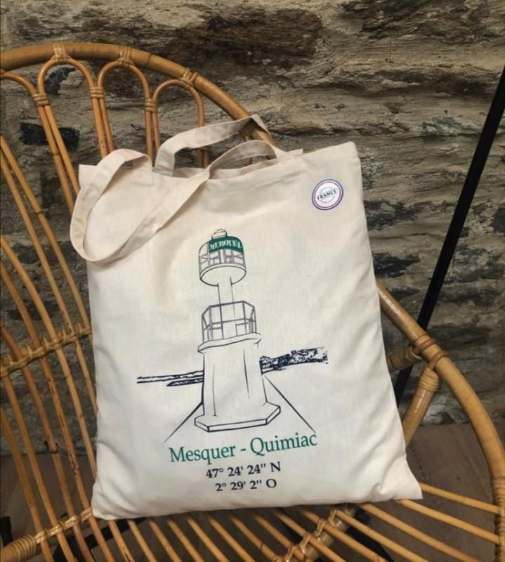 Tote bag Merquel - Mesquer Quimiac - OTI La Baule Presqu'île de Guérande