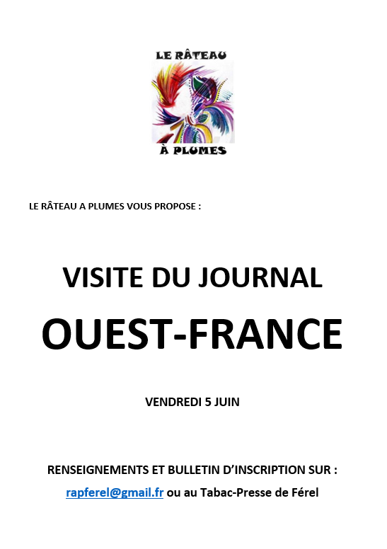 Visite du journal Ouest France
