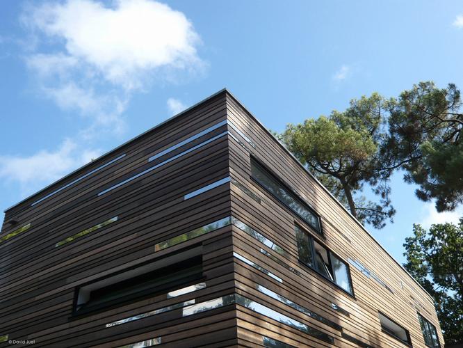 Visite guidée Villas contemporaines -facade-de-la-Cabrette-Office de Tourisme La Baule Presqu'île de Guérande