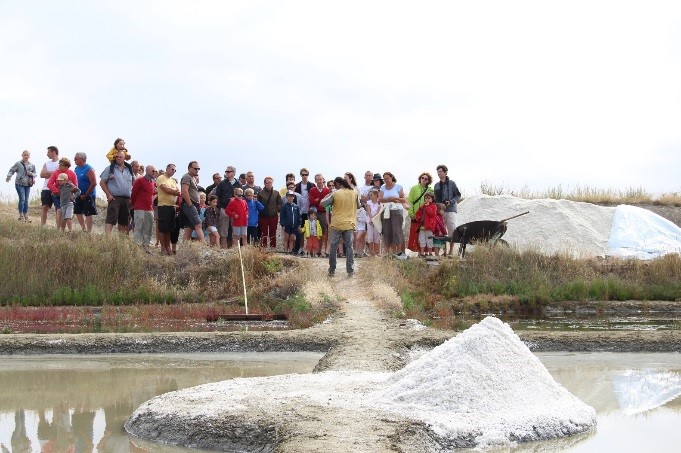 Visite de la Saline de Beauregard à ASSERAC : VISITEESTIVALESALINEBEAUREGARD